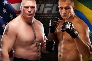 TUF Lesnar vs Dos Santos