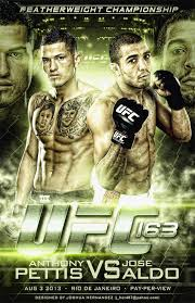 UFC 163 Pettis vs Aldo
