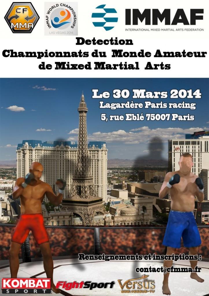 IMMAF Mondiaux Amateur de MMA 2014