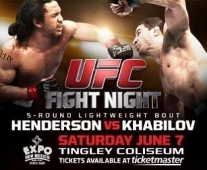 UFC Fight Night Henderson vs Khabilov