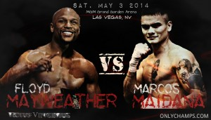 Floyd MayWeather vs Maidana